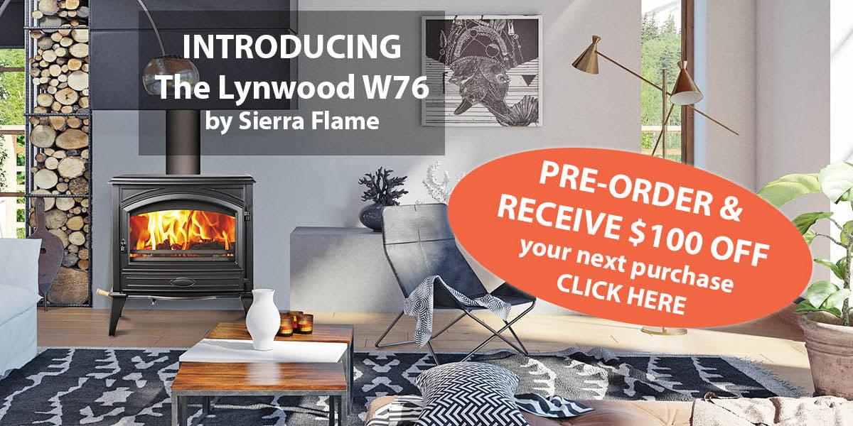 Sierra Flame wood burning stove