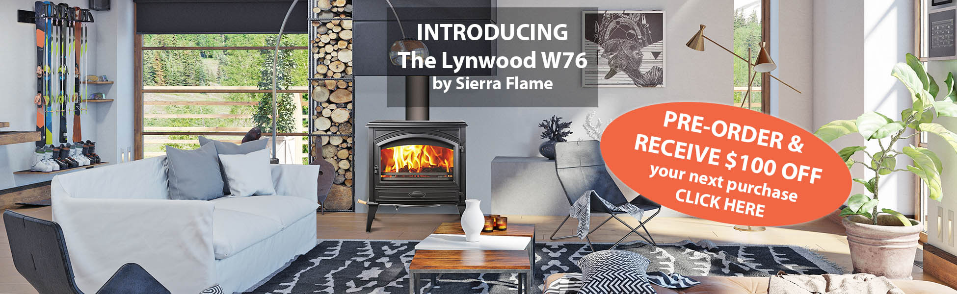 Wood stove - pre order sale
