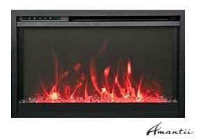 extra slim fireplace