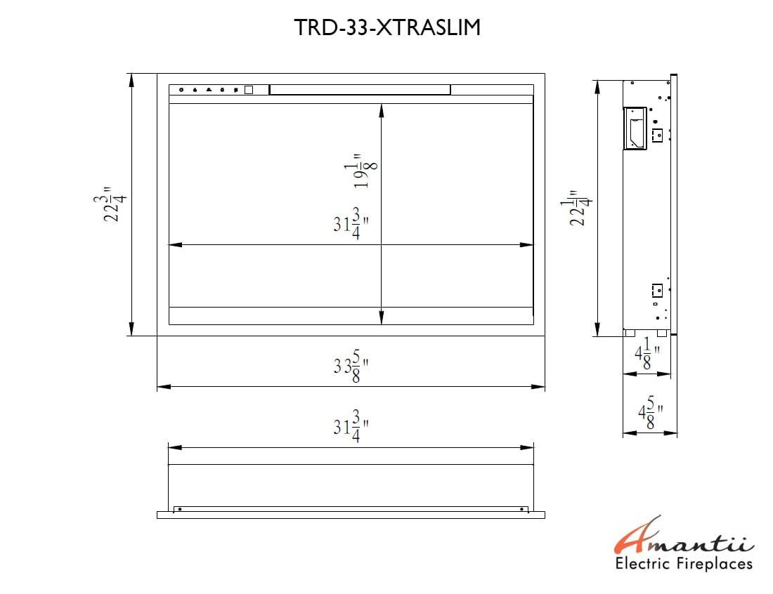 TRD-33-XS SPECS