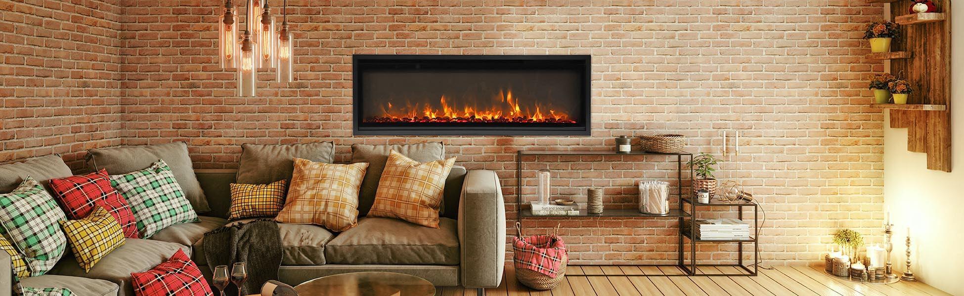 SYM-XS-60 elelctric fireplace