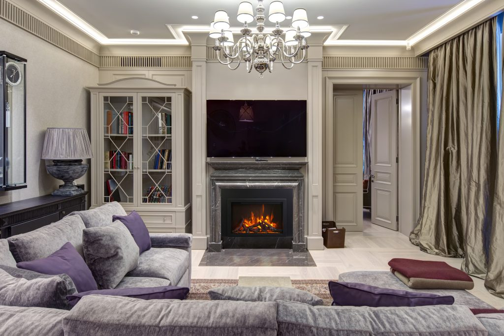 TRD Bespoke Traditional and Modern Electric Fireplace