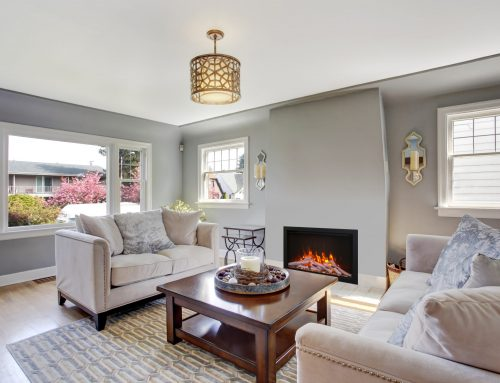Traditional Meets Modern: WiFi and Bluetooth Electric Fireplaces