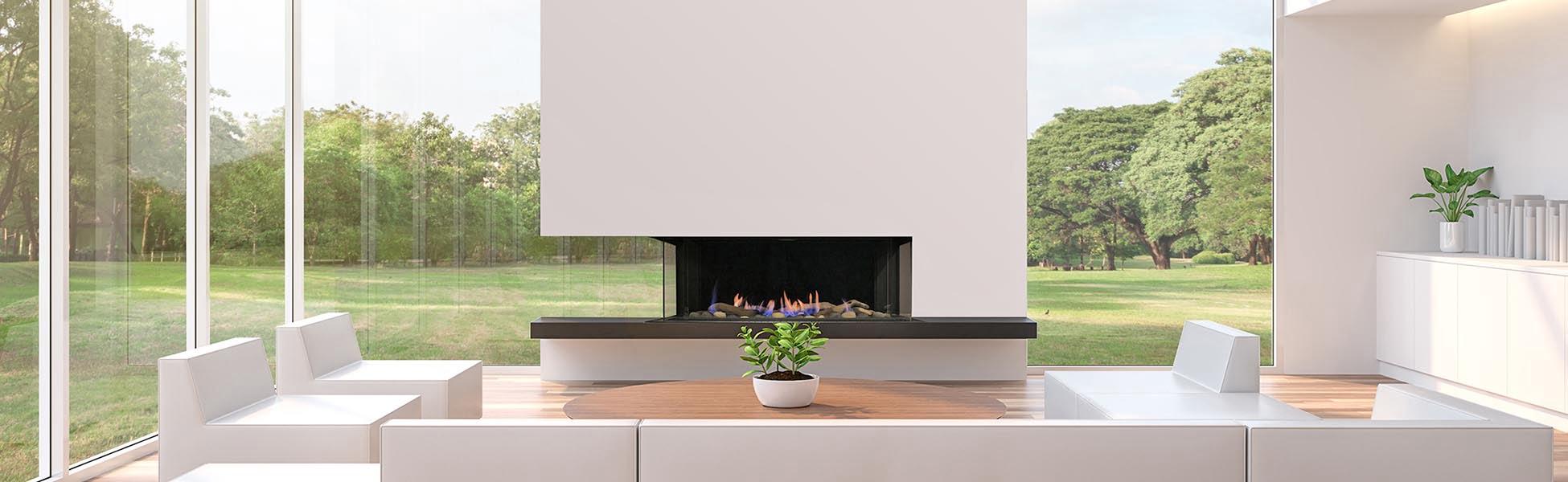 Toscana gas fireplace