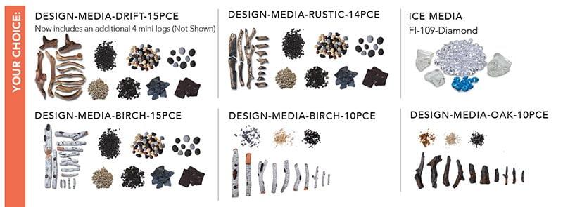 fireplace insert accessories