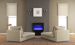 Freestand electric fireplace